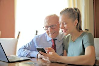 contact senior home care agency for help with elderly